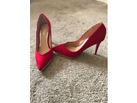 Red lipsy shoes size 5