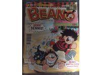 120 beano comics from 1998-2004