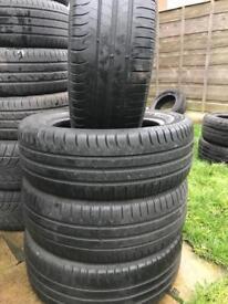 205/55/16 Michelin part worn tyre x4