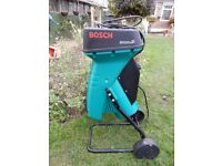 Bosch Garden Shredder 2000 hp very good condition