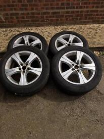 Wheels and tyres 17""