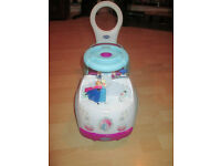 FROZEN SIT AND RIDE BABY WALKER ((REDUCED PRICE))