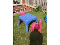 Kids Play Table & Chairs