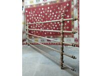Huge Antique pine hanging rack. Perfect country house farmhouse Kitchen about 8x4ft pot / linen rack