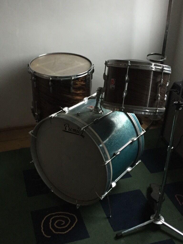 1960 S Vintage Premier Drum Kit Ringo Star In Poole