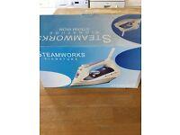 BRAND NEW: Steamworks Signature Steam Iron