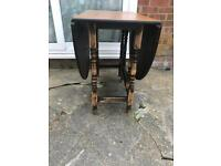 Up cycled Solid oak drop leaf table