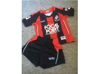 AFC Bournemouth football kit 12-18 months