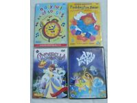 Bundle of 4 Young Kids DVDs