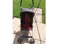 Navy unisex stroller pushchair