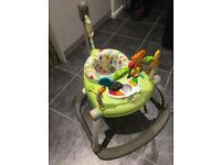 Fisher price space saver jumperoo, literally like new!! Smoke and pet free house
