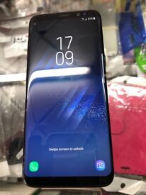 Samsung S8 plus Almost new 64gb unlocked with receipt