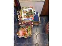 280 various Cross Stitch magazines £40 ono