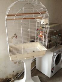 Assorted bird cages