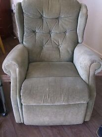 Reclining chair manual, in good working order first £25.