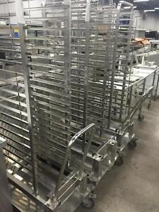 Roll-In Racks for Henny Penny combi oven