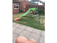 Big garden slide for kids