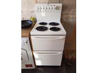 Freestanding electric double oven and cooker