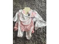 7 piece Bambi Disney outfit for tiny baby