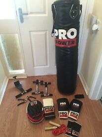 Pro power boxing equipment and more