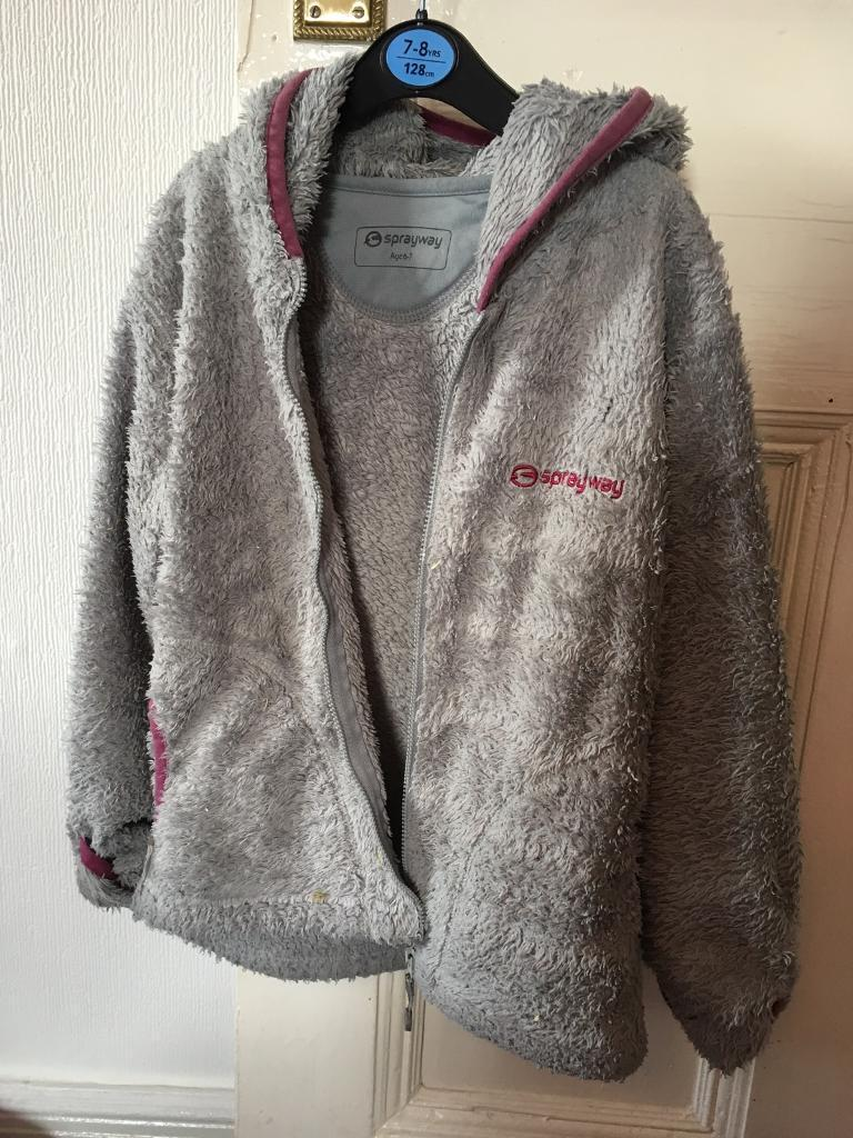 Sprayway fleecy jacket 6-7yrs