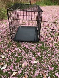 Small dog crate for sale, only used a few times.