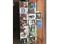 Selection of 16 Xbox 360 games