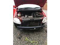 Vw fox 1.2 selling as spares or repair as needs new front end