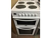 50CM WHITE BELLING ELECTRIC COOKER GRILL/OVEN