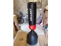 Gallant Red Free Standing Boxing Punch Bag Heavy Duty