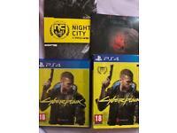 Cyberpunk 2077 (2 Disc) Gaming / Playstation4 Games