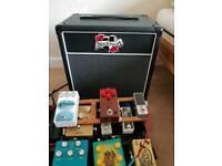 Black Heart guitar speaker and cabinet 1×12