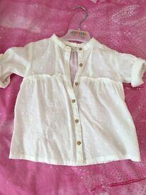 Zara shirt/shirt dress age 2-3