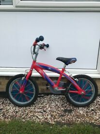 Boys Spider-Man bike