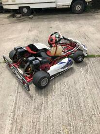 Go cart go kart twin engine swap quad or buggy