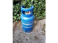 Empty 7kg butane Calor gas bottle bbq camping