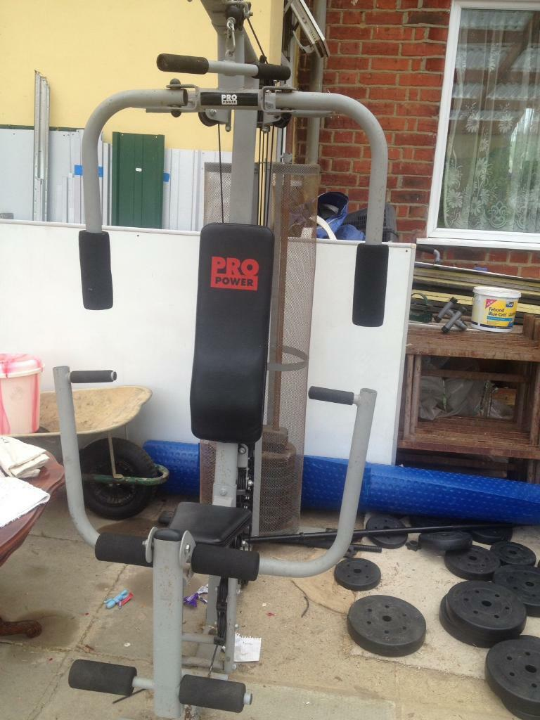 Pro Power Fitness Home Gym Machine