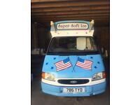 Whitby Morrison Soft Ice Cream Van