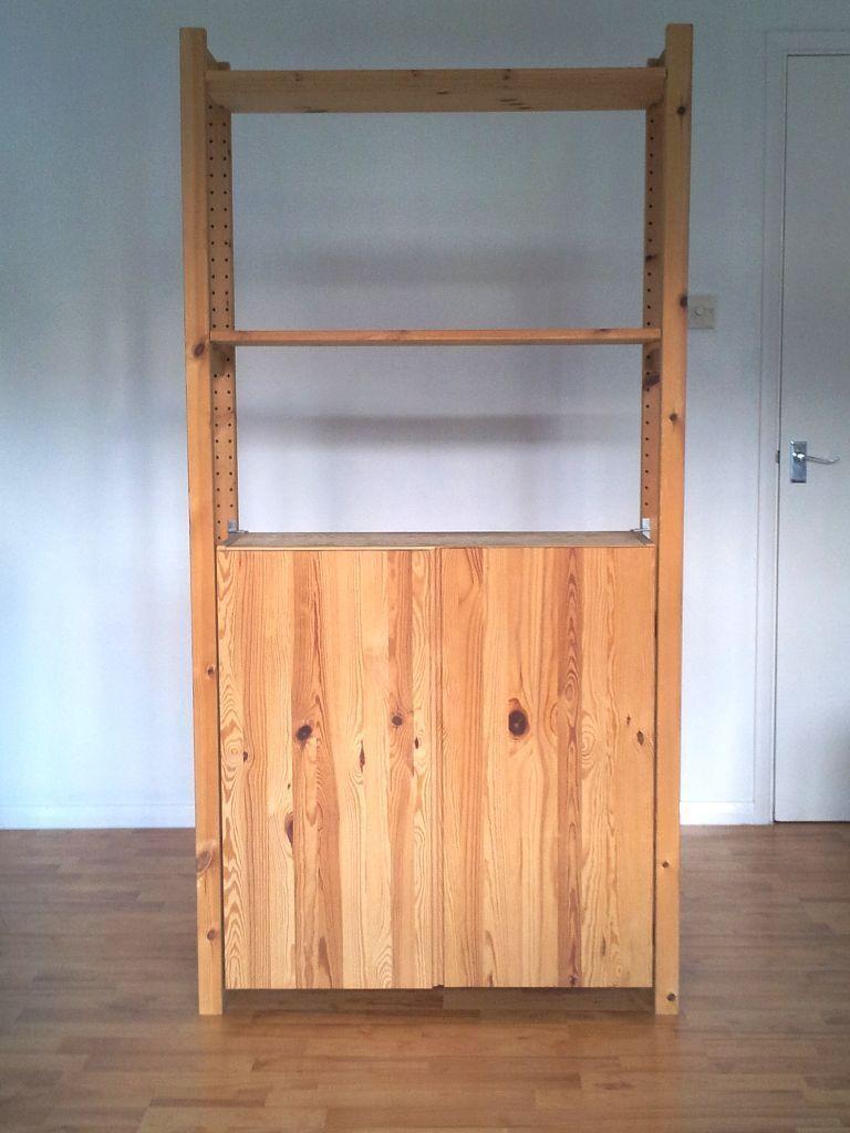 1 x ikea ivar cabinet storage u0026 shelving unit 40 or o n o in