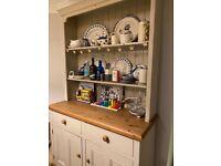 Welsh dresser / display cabinet/ sideboard / shabby chic