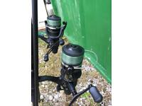 Sonik SKS Rod and Shimano Reels
