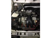 Escort Xr3i efi complete engine & gearbox rs turbo
