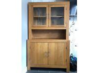 4 Piece solid oak furniture set