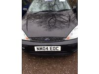 FORD FOCUS, DIESEL, 5 DOOR , MOT UNTIL AUGUST, BLACK PAERT EXCHANGE