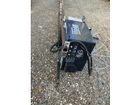 Electric motorised garage mechanism door opener