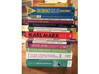 Bundle of social work books
