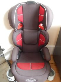 Graco booster seat for sale 15-36kg. £10 to collect