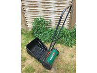 Qualcast Panther 30 Hand Powered Cylinder Lawnmower - good condition