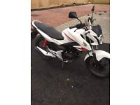 Honda GLR 125 low mileage and comes with 3 x free servicing