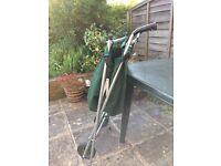 Folding wheelbarrow unused
